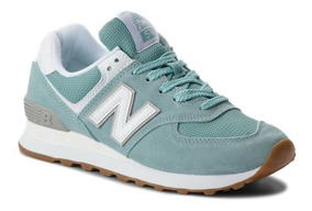 zapatillas new balance verde mujer