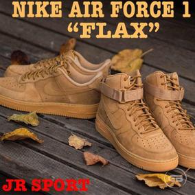 timeless design 828c7 586cb Zapatilla Nike Air Force 1 Flax Low Original