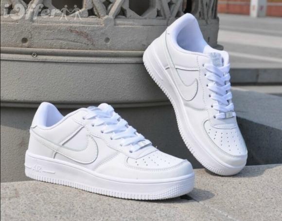 Zapatilla Nike Air Force One Blancas Para Hombre