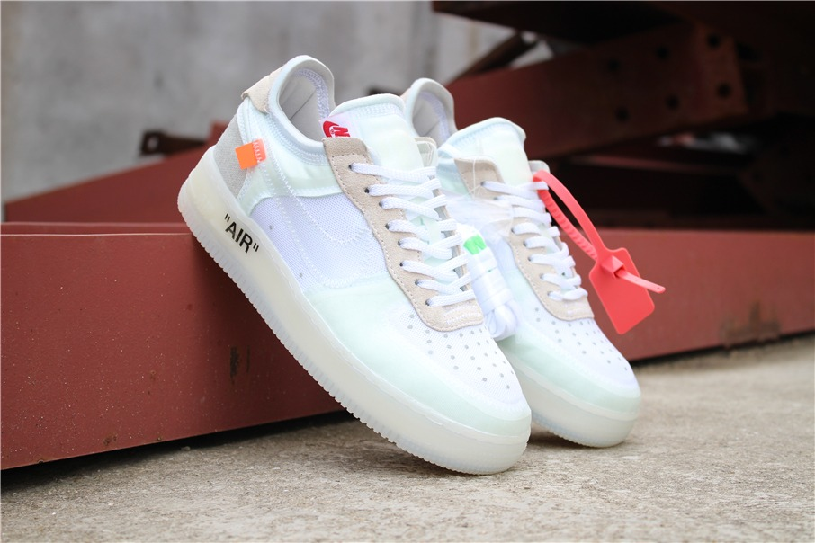 zapatilla nike air force one low off white. Cargando zoom. 9b818d7e5