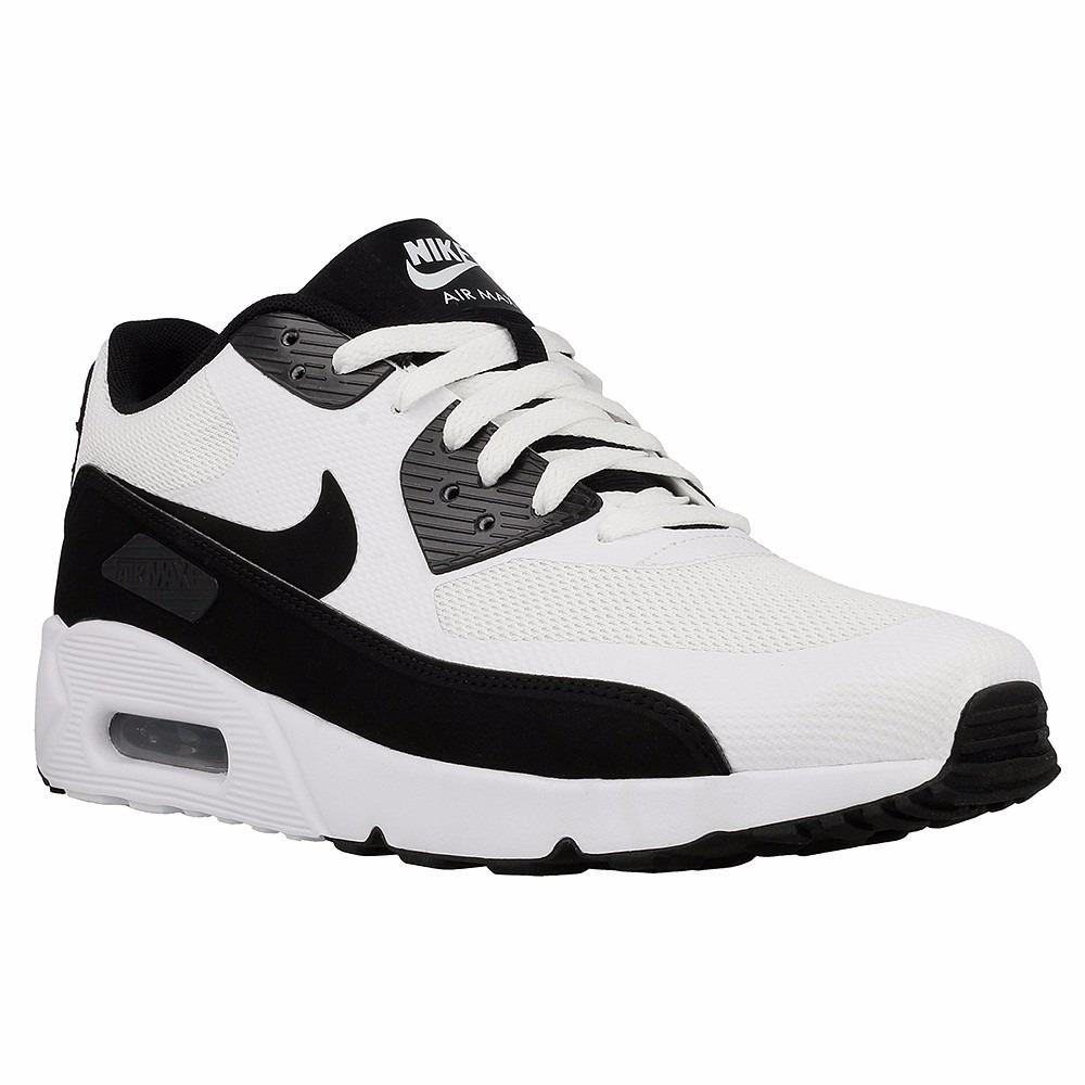 zapatillas nike air max negras con blanco