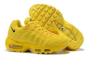 air max amarillas