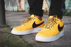 zapatillas nike air force amarillas