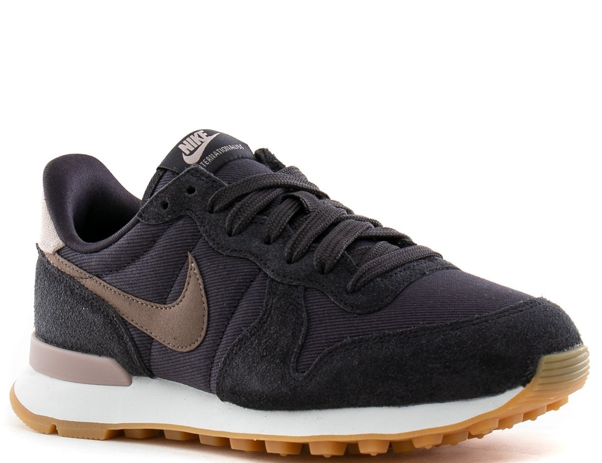on sale 13b9a 66418 ... where to buy zapatilla nike internationalist oil grey brown black  mujer. cargando zoom. 6b934