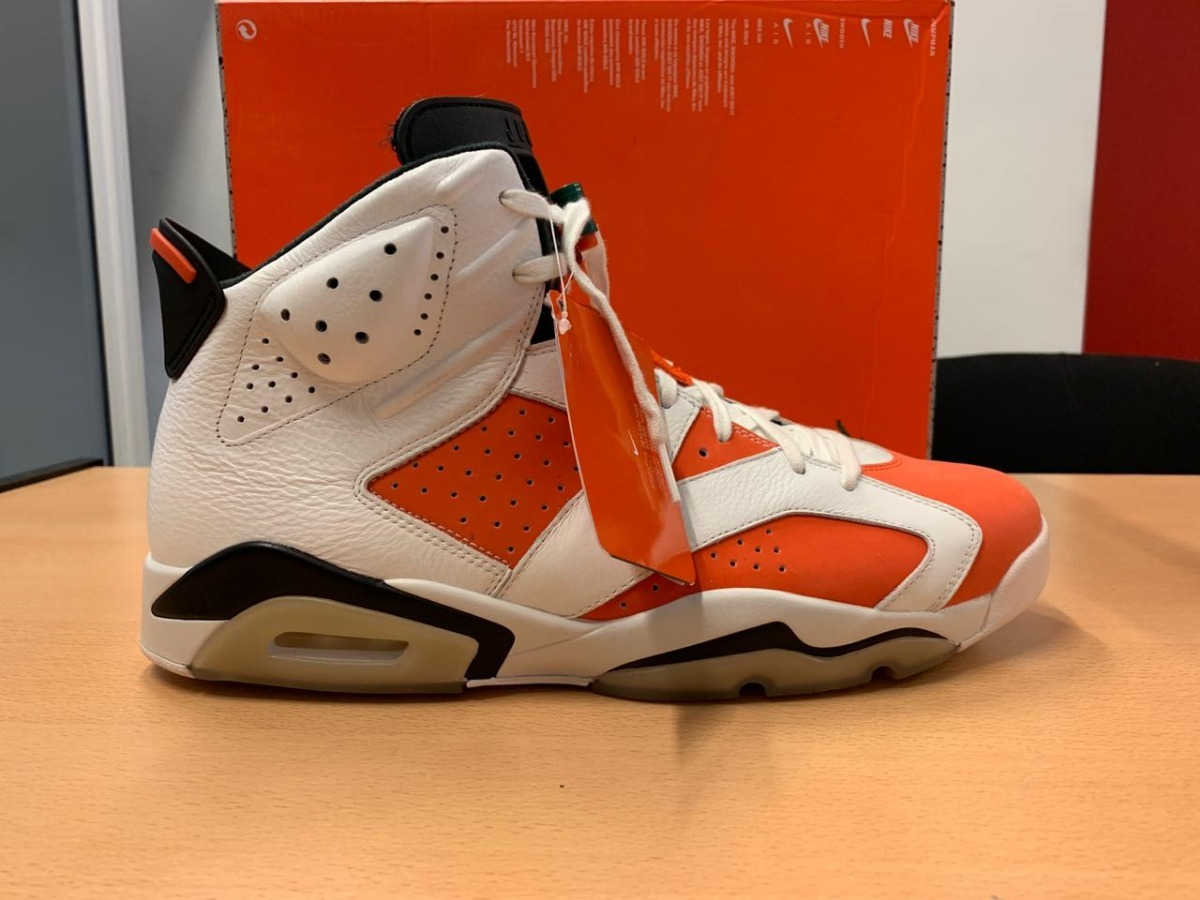 site réputé a97a7 86a3a Zapatilla Nike Jordan Gatorade Numero 15 Usa 33 Cm - $ 6.980,00