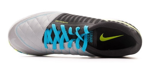 zapatilla nike lunar gato ii /black-volt-wolf grey-light cur