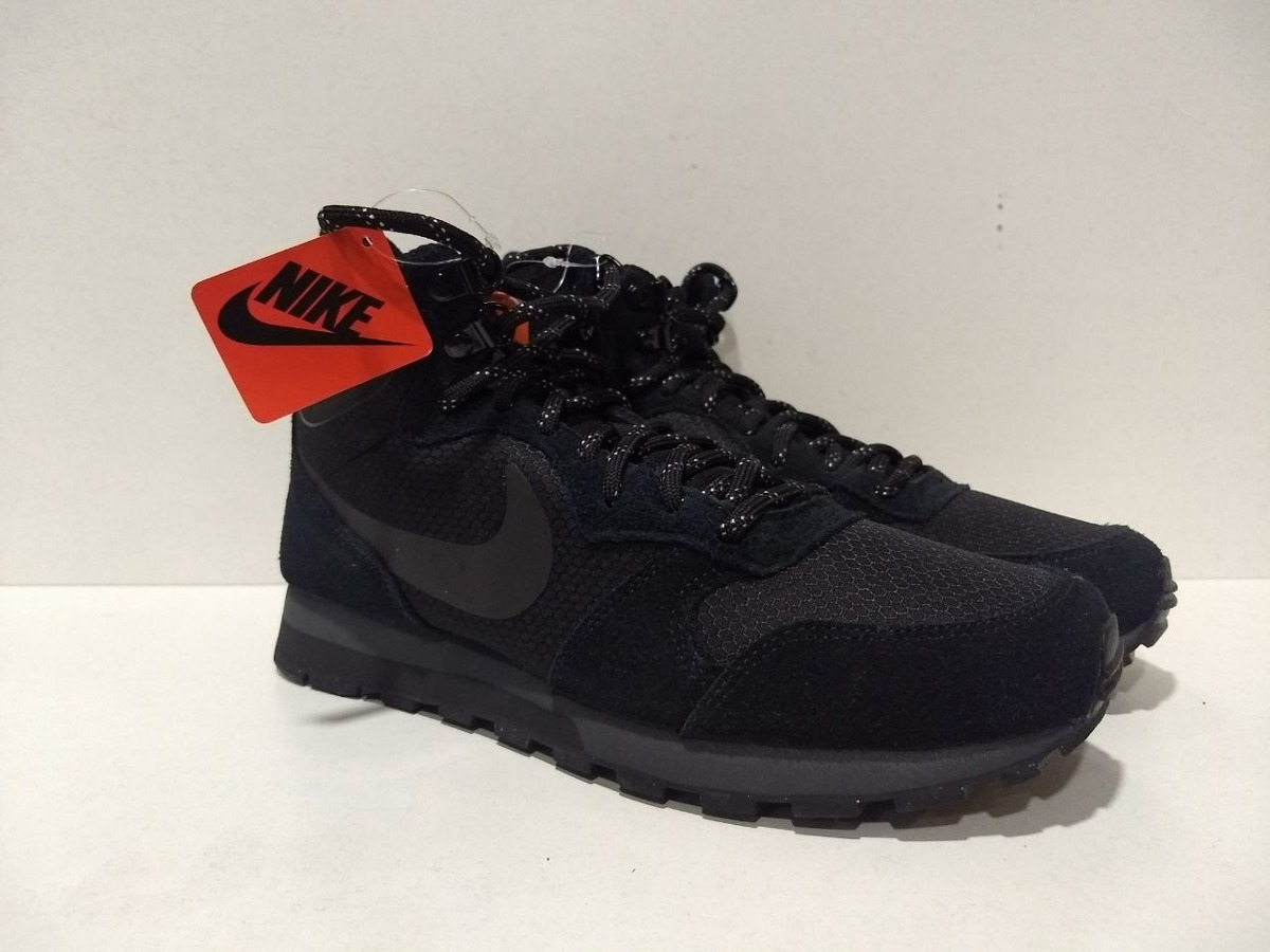 sale retailer 16662 b9561 zapatilla nike md runner 2 mid prem black. Cargando zoom.