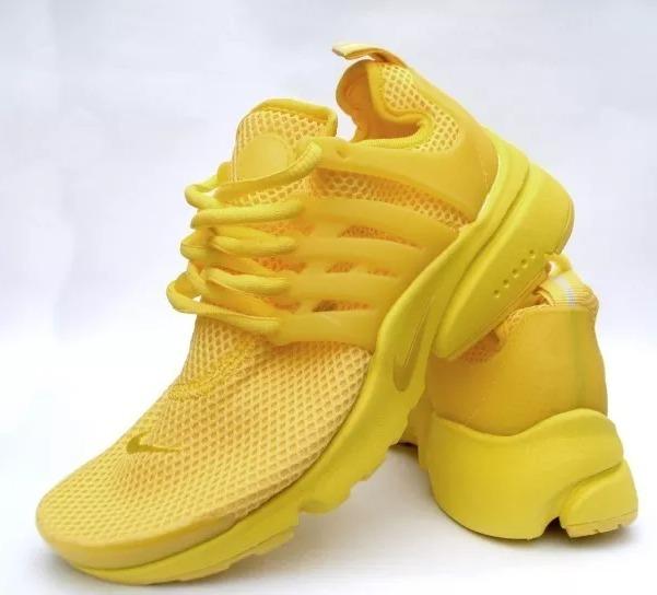 super popular 95693 af7dc zapatilla nike presto amarilla 100% original mujer