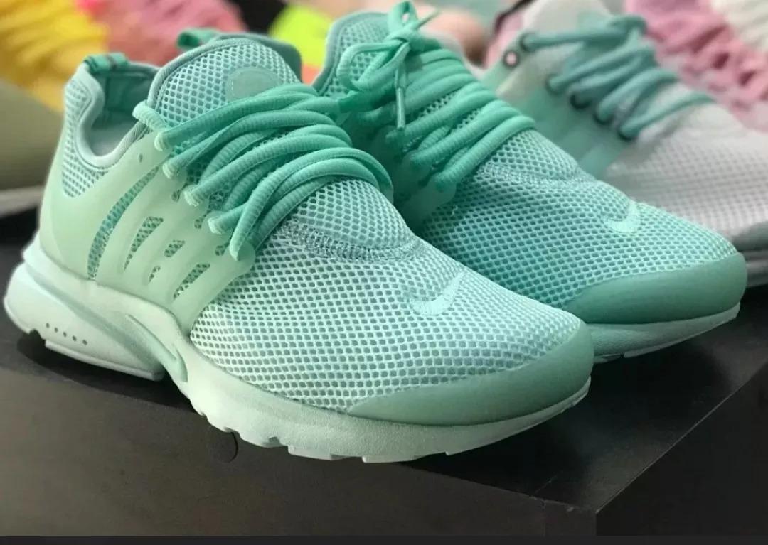 zapatillas nike verde mujer