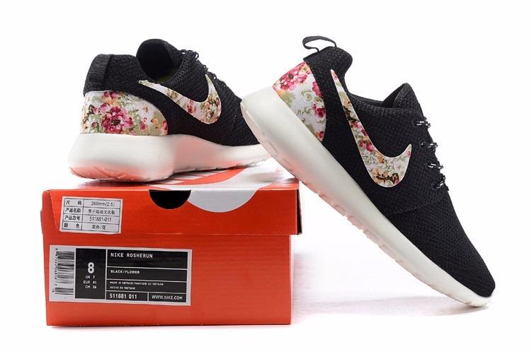 Zapatilla Nike Roshe Run Floral S 210,00 en Mercado Libre