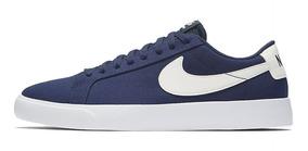 Sb Lona Nike Hombre Blazer Zapatilla Mujer Azul Original Txt EIYD92WH