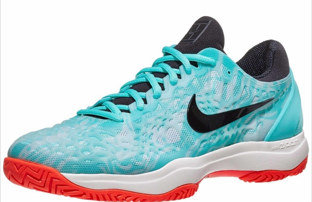 Zapatilla Nike Zoom Cage 3 Hc Rafa 2019 Teal