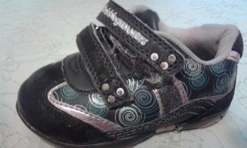 zapatilla niño talla 20 marca  bubble gummers