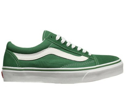 vans old school verdes