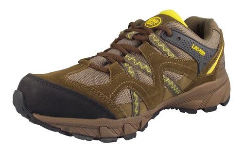 zapatilla outdoor hombre lag color brown cuero 3fz2218