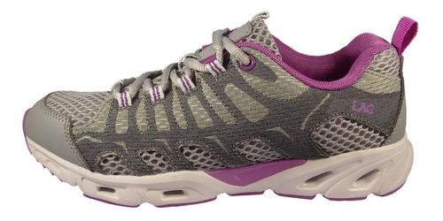 zapatilla outdoor mujer gris lag 3sz0219
