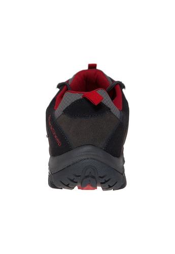 zapatilla outdoor waterproof, hombre huemul - blacksheep