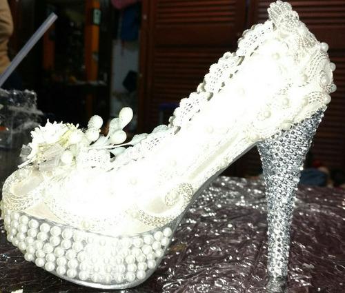 zapatilla para pedir dinero en tú boda!!
