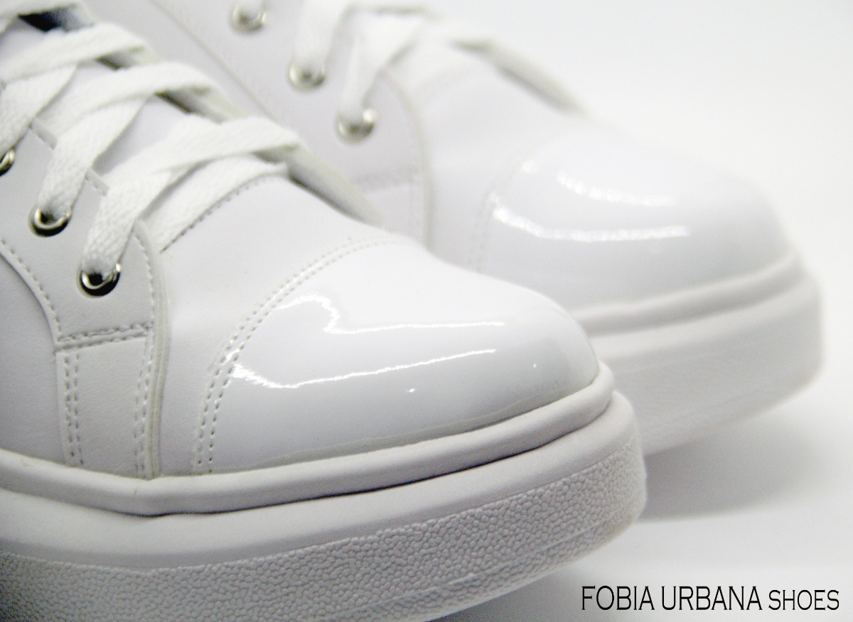 dddc204e1b7 zapatilla plataforma sneakers blanca alta mujer moda 2018. Cargando zoom.