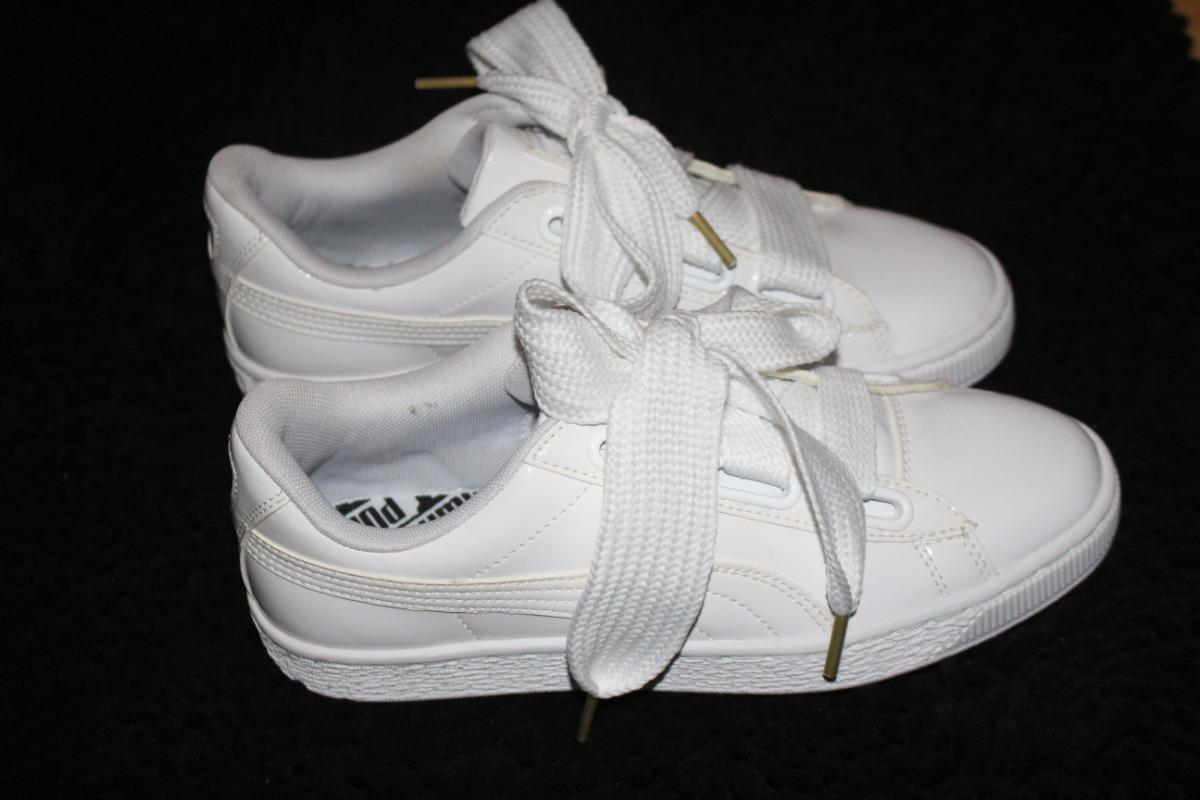 sale retailer 634ee dadd9 Zapatilla Puma Basket Heart 36,5 No Fenty 7 Us 2 Cordones - $ 2.900,00
