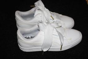 nuevo producto bd3e7 936dc Zapatilla Puma Basket Heart 36,5 No Fenty 7 Us 2 Cordones