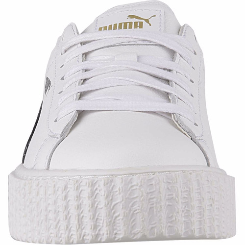 zapatilla puma creeper white & black mc1-66209
