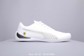 zapatillas puma ferrari blancas