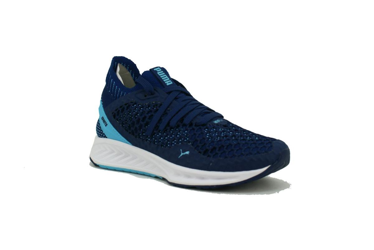 zapatillas puma mujer azul