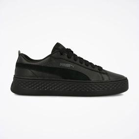 zapatillas negras de mujer puma