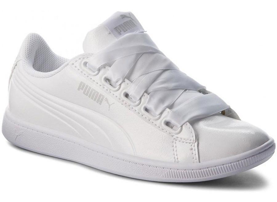 Puma VIKKY PLATFORM RIBBON P Sneakers laag White puma