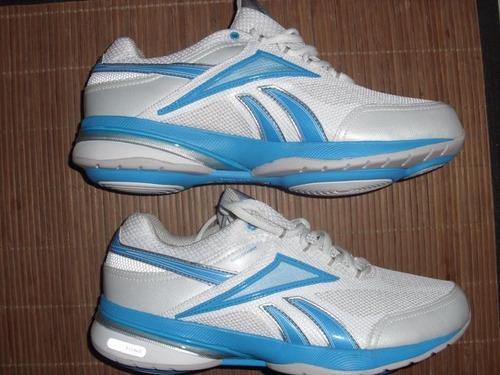 zapatilla reebok easytone bl/azul solo $ 149,990 talla 9