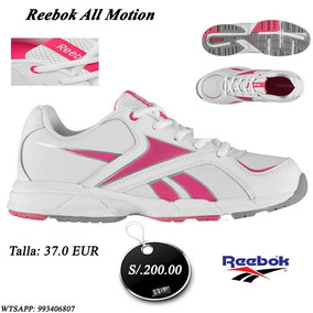 Zapatilla Reebok Mujer No Nike adidas Puma Asics