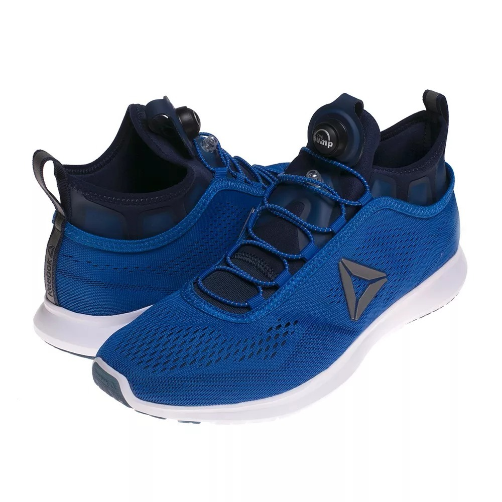 zapatilla reebok pump plus tech azul. Cargando zoom. bfeb60db4