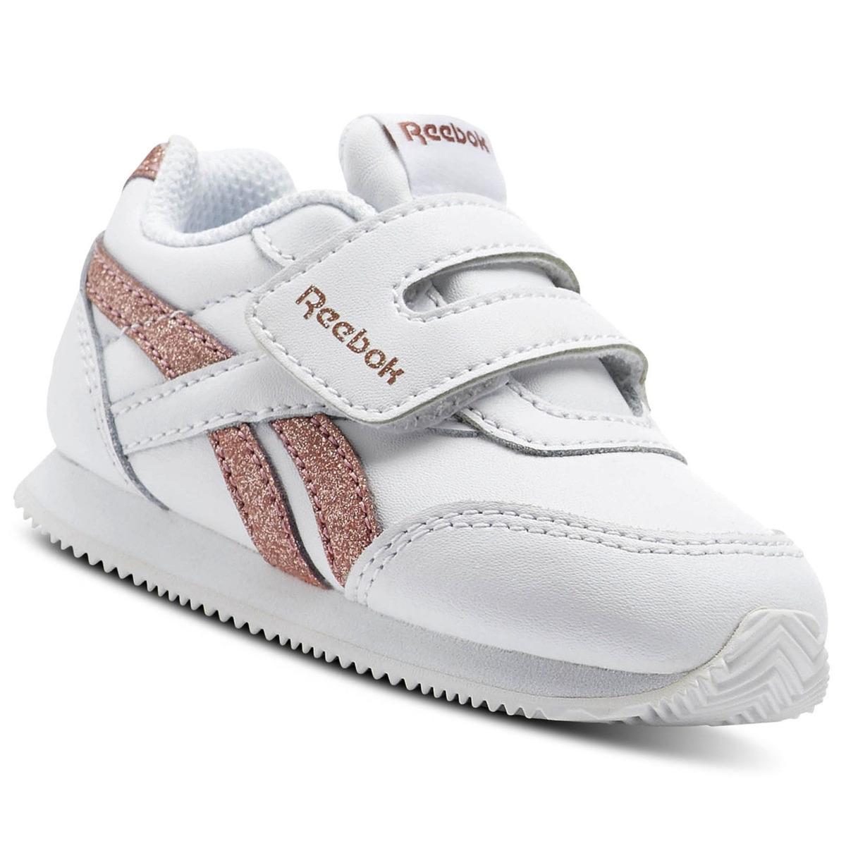 c309f6819 zapatilla reebok royal classic jogger kc para niña - blanco. Cargando zoom.