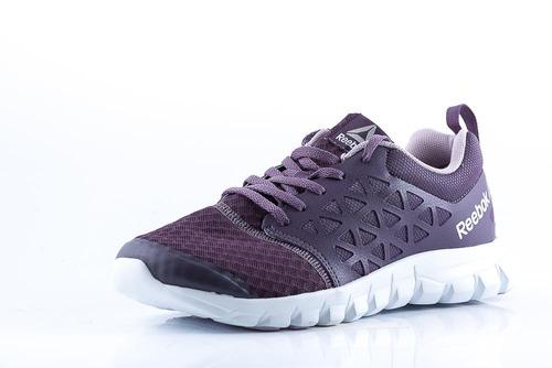 zapatilla reebok sublite xt cushion  violeta dama