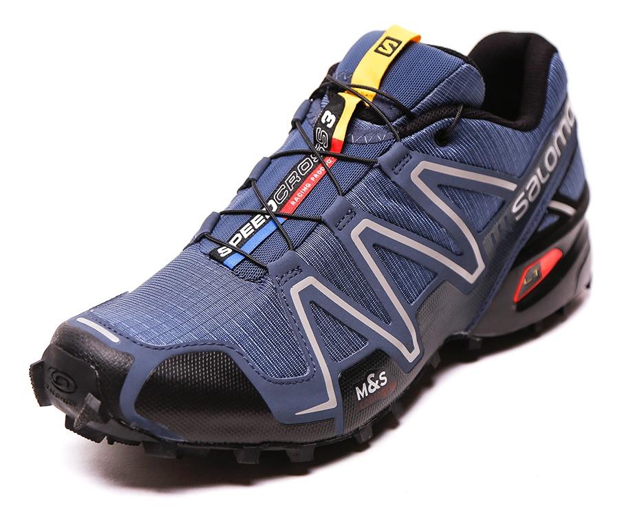 Zapatilla Salomon Speedcross 3 Azul Hombre