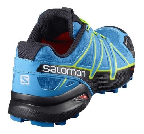 zapatilla salomon speedcross  4 cs hombre - trail running
