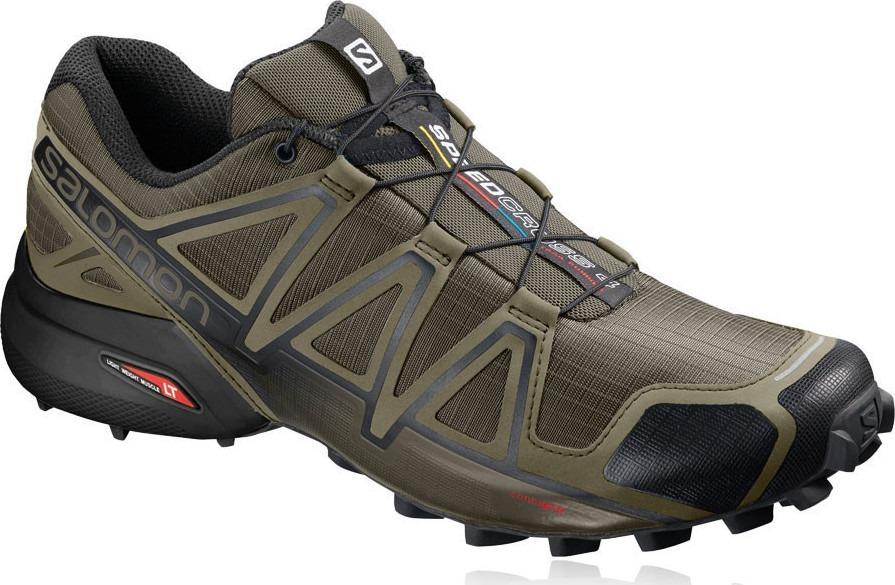 Zapatilla Salomon Speedcross 4 Trail Running Verde Militar