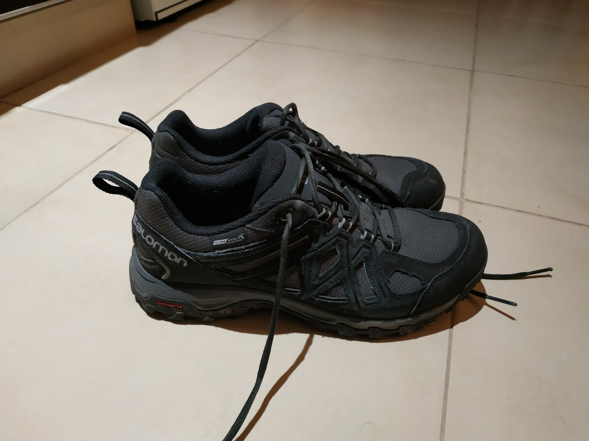 new concept 426b5 d6f1f Zapatilla Salomon Waterproof Climashield -   2.500,00 en Mercado Libre