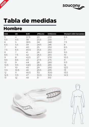 zapatilla saucony running kinvara 9 hombre gris oscuro/negro
