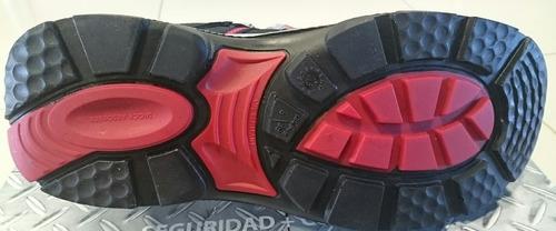 zapatilla seguridad calzado ombu krypton pu negro fact a - b