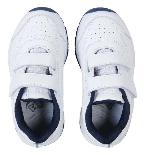 zapatilla sport blanco niño colloky garantía año escolar