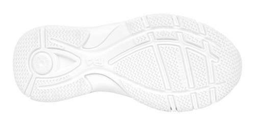 zapatilla sport blanco unisex colloky garantía año escolar