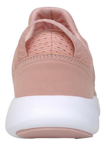 zapatilla sport rosado caña baja con elástico niña colloky