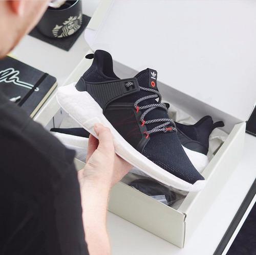zapatilla the bait x adidas consortium eqt m.o.d