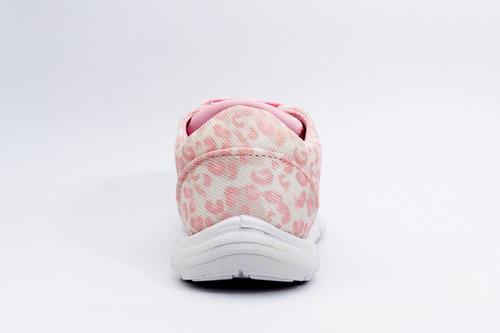 zapatilla toy niña print rosa (20 al 26) art h28ps