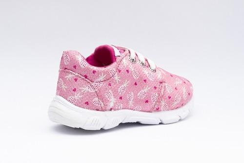zapatilla toy niña rosa ananá (20 al 26) art h28san