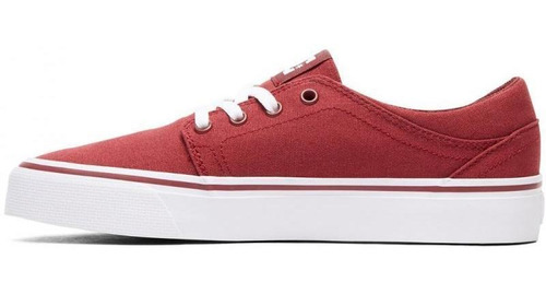 zapatilla trase tx rojo dc shoes