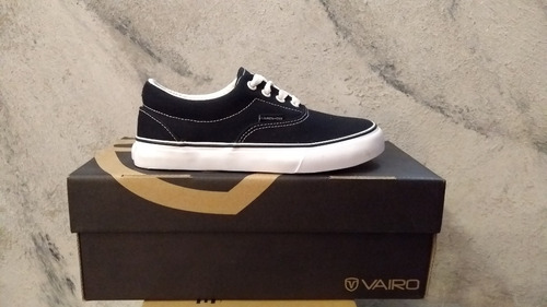 zapatilla vairo sailor negro