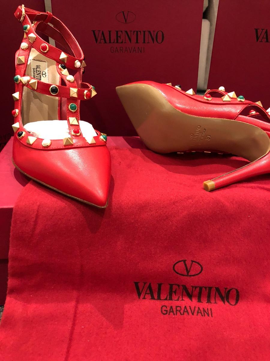 707748cc0aa zapatilla valentino roja original 100%. Cargando zoom.